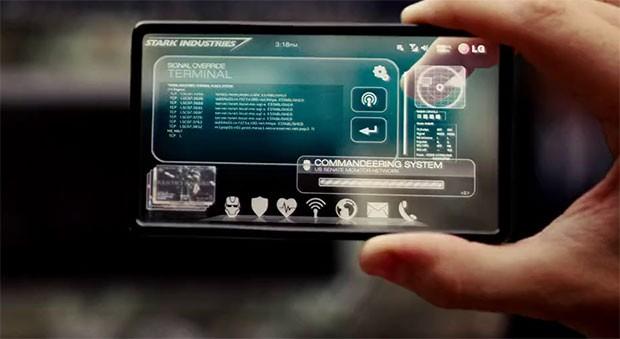 smartphones transparente