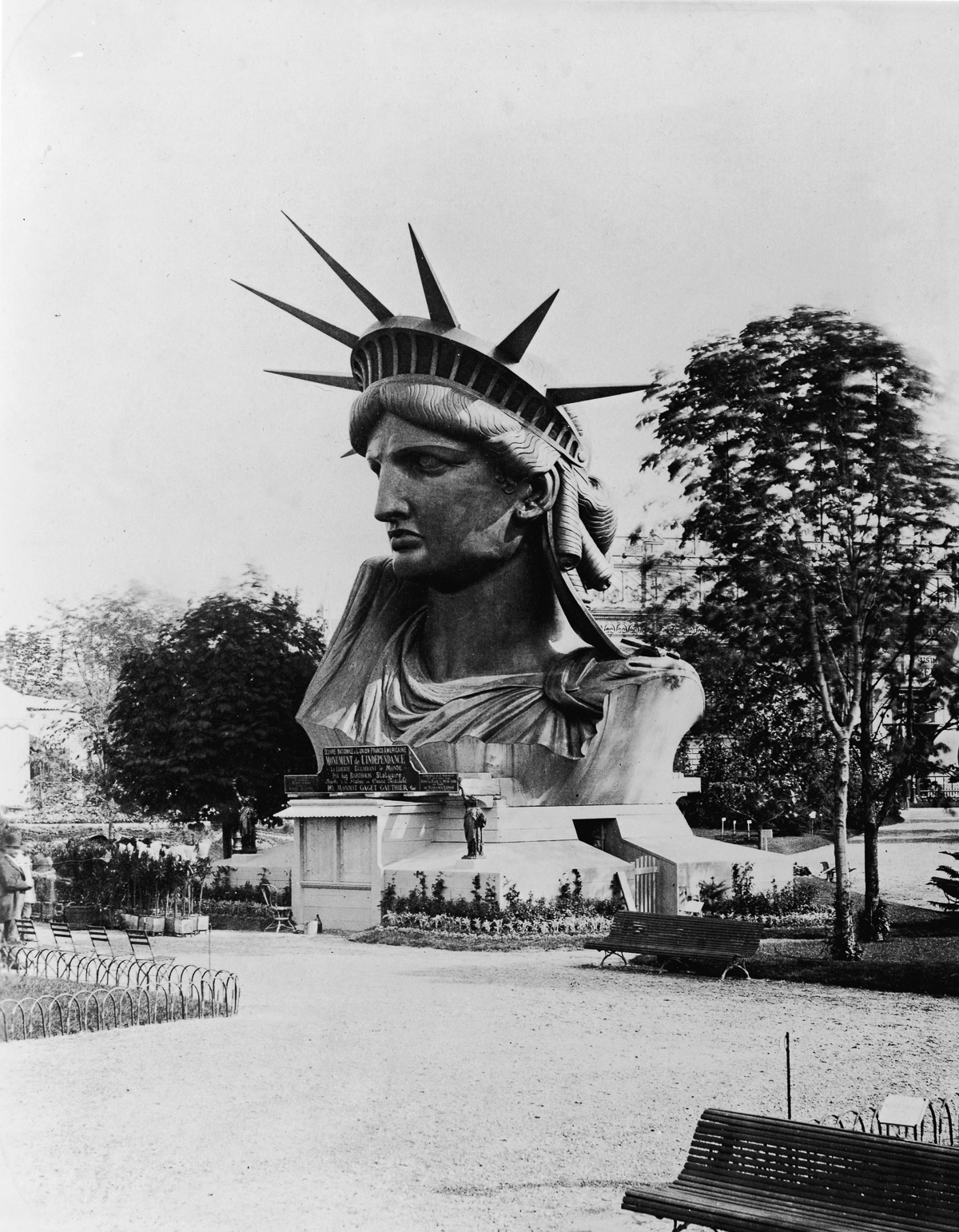 Statue Of Liberty's Head