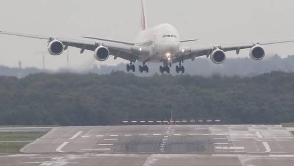 Airbus-A380 aterrizaje