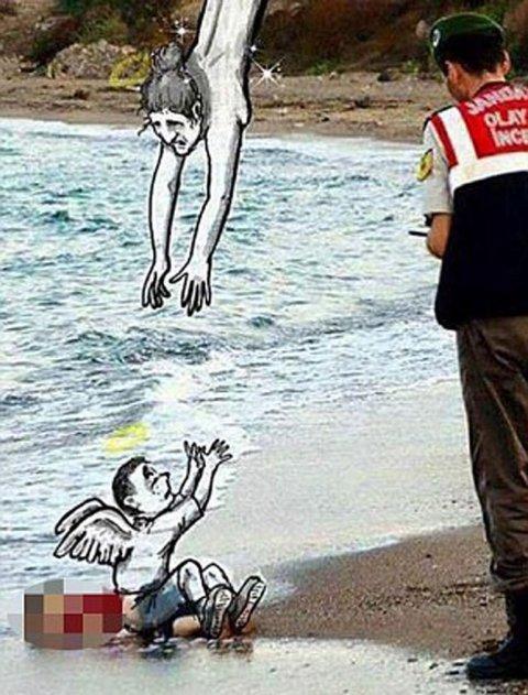Aylan Kurdi niño sirio 5