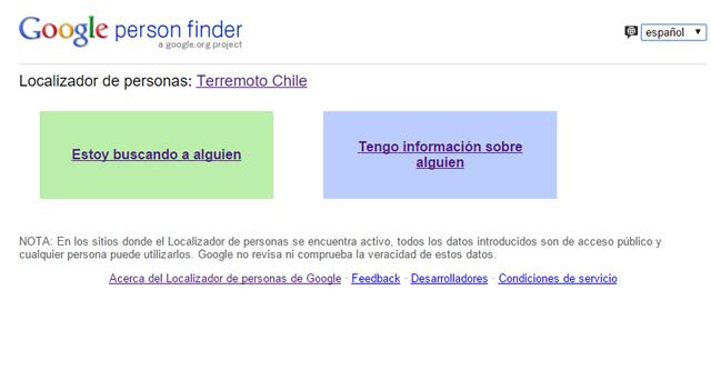 buscador de chilenos