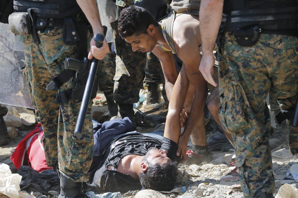 Refugiados en Macedonia