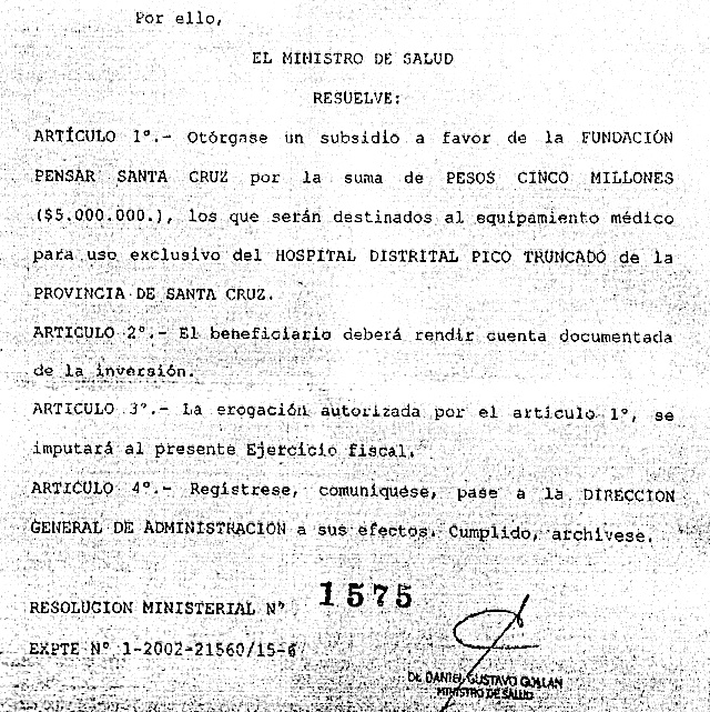 Resolucion-Ministerial_alicia_kirchner_robo