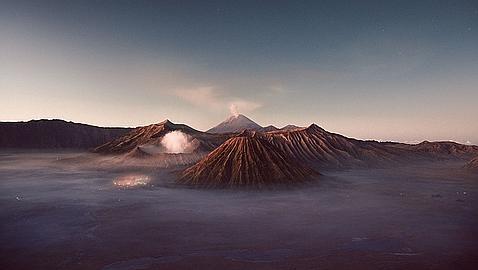 Volcan Lava Azul 4