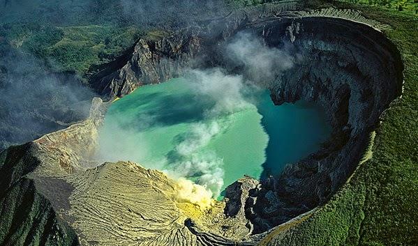 Volcan Lava Azul 6