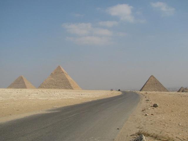 El camino a Giza