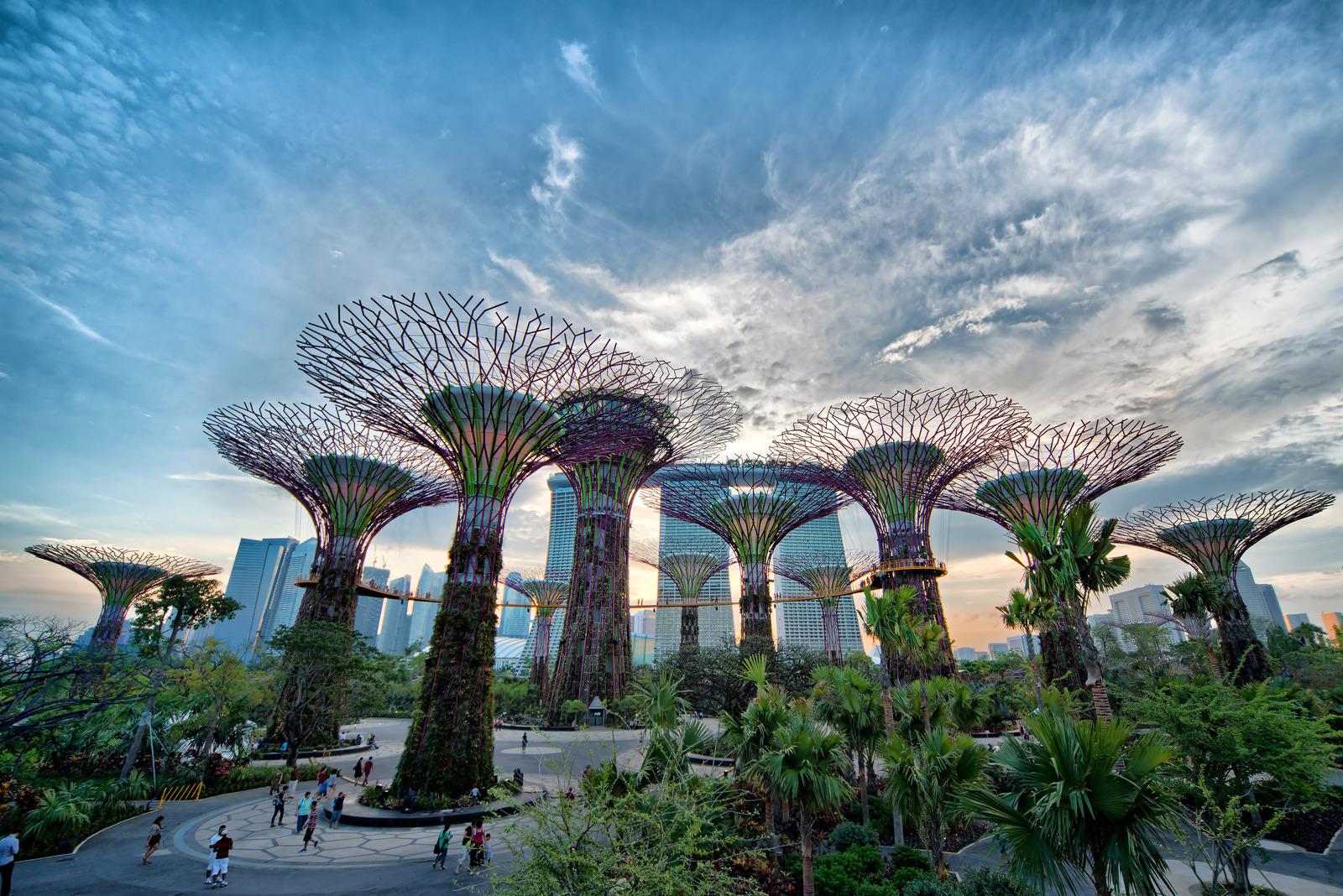 Jardines en la Bahía, Singapur