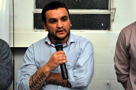 Gustavo Matías, el militante detenido