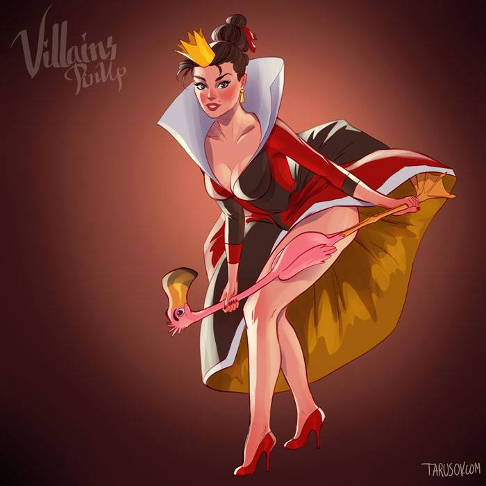 villanas pin up (4)