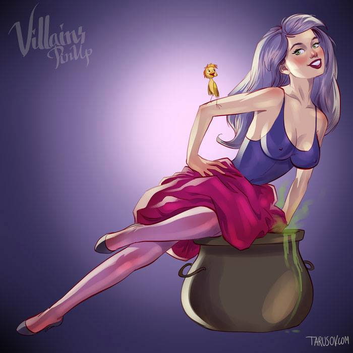 villanas pin up (5)