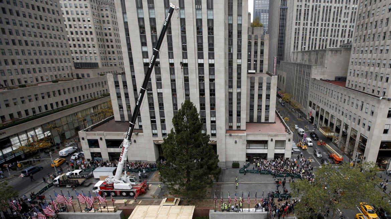 Arbol de Navidad Rockefeller Center 1