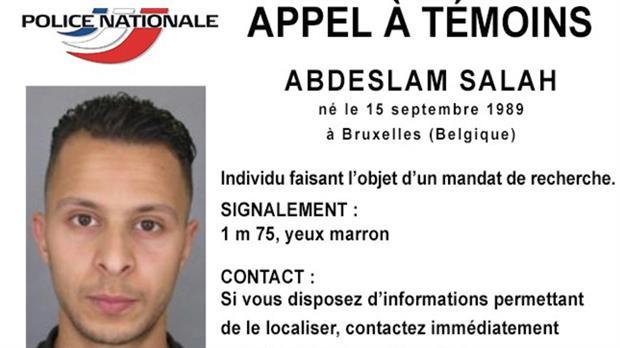 atentados-en-paris  Salah Abdeslam