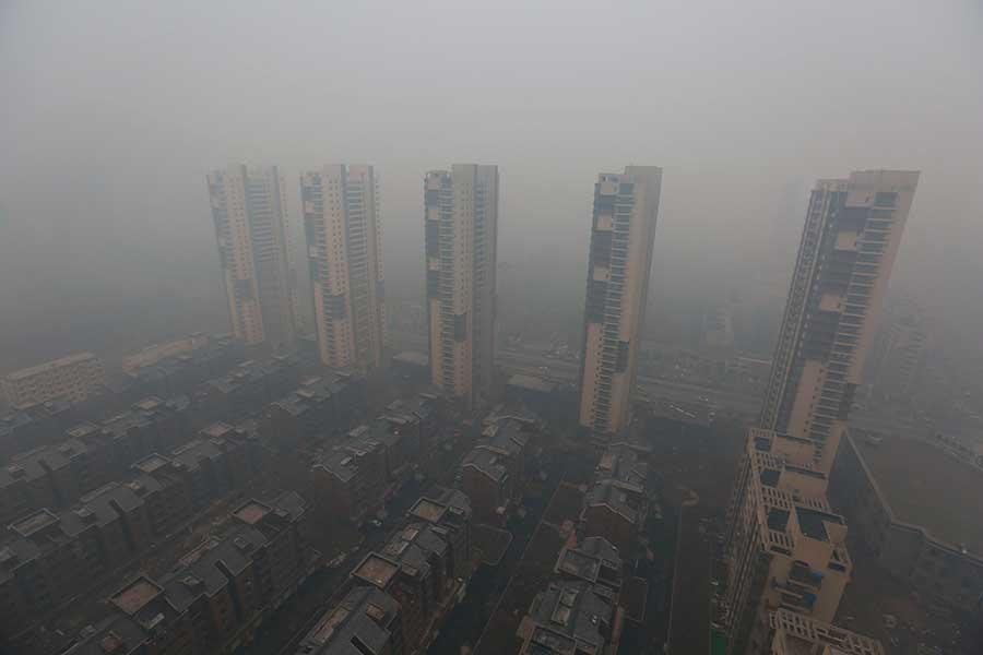 Contaminacion en China 1