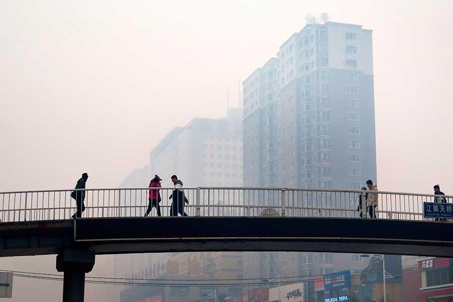 Contaminacion en China 2