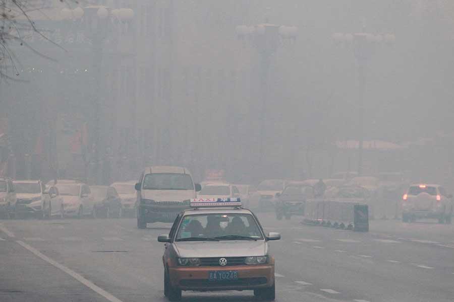 Contaminacion en China 3