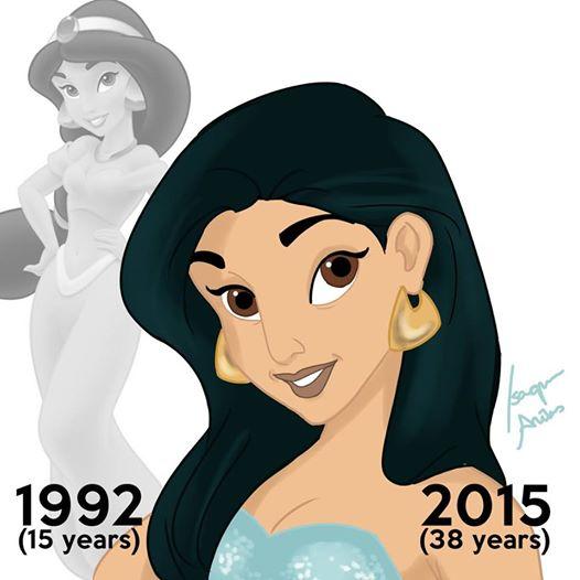 Princesa edad real 6