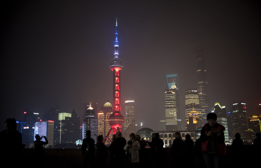 The Oriental Pearl, Shanghai