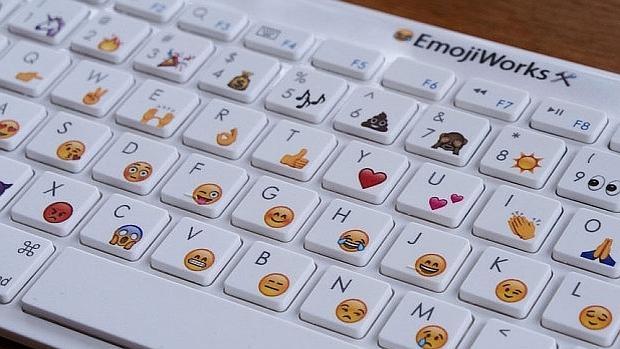 teclado con emoticones