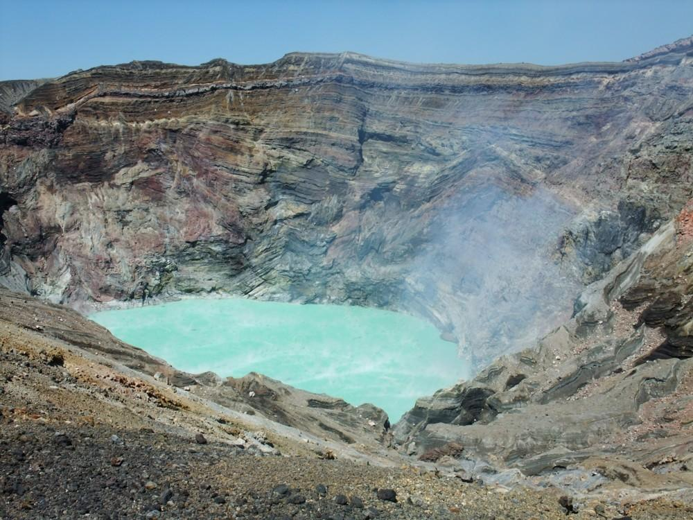 Volcán Gunung Kelud (Indonesia)
