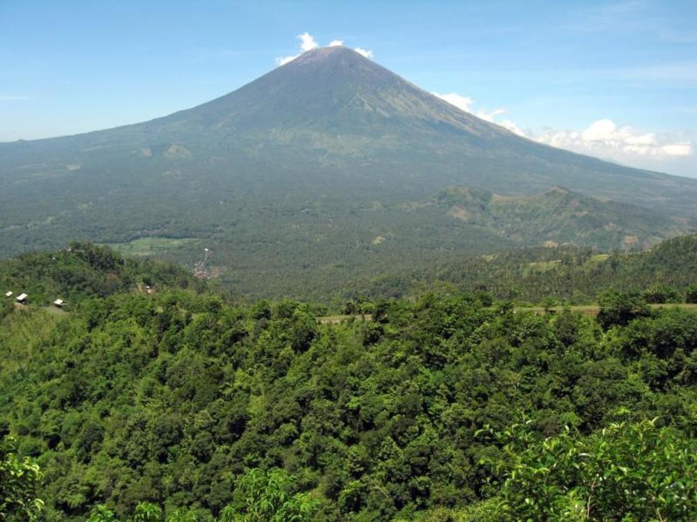 Volcán de Gunung Agung (Indonesia)