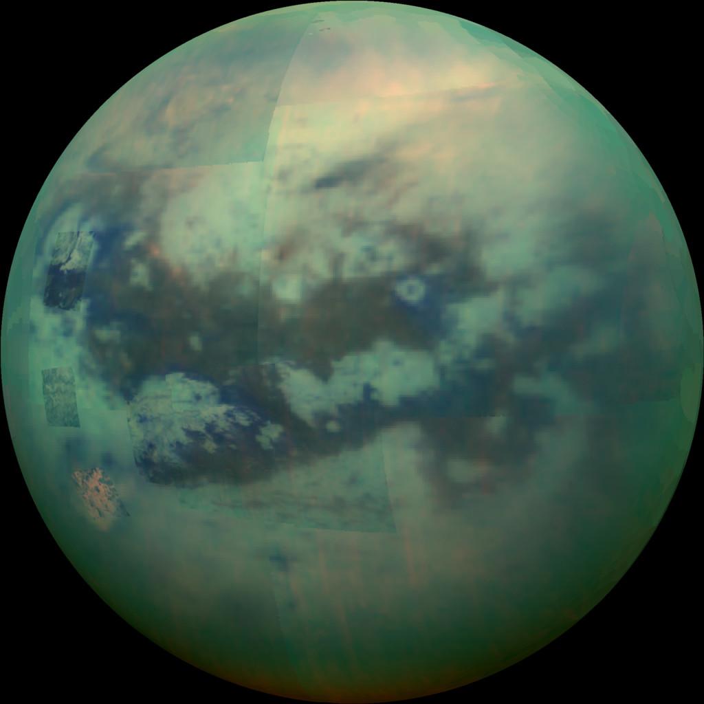 La superficie de Titán