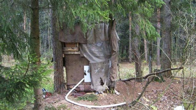casa bosque rusia