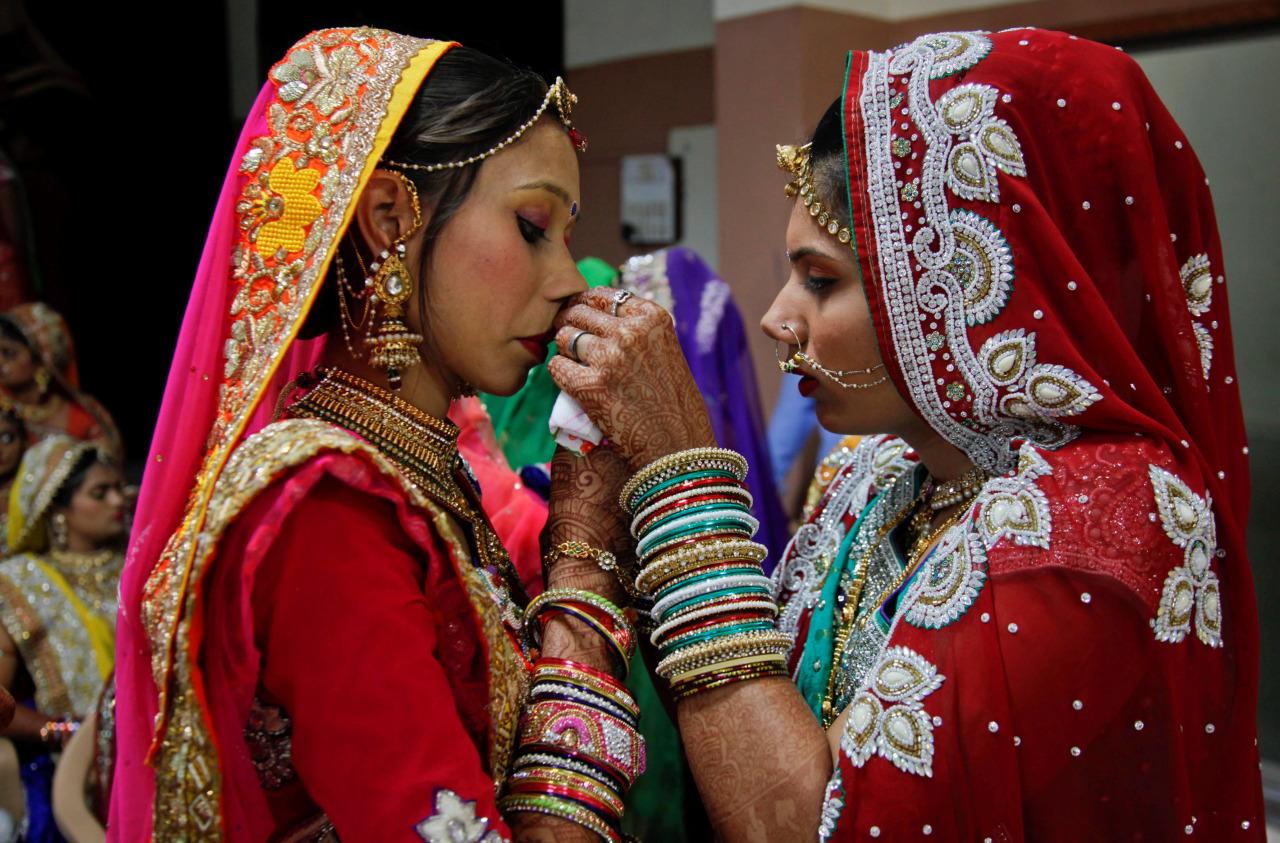Casamiento Masivo India 1