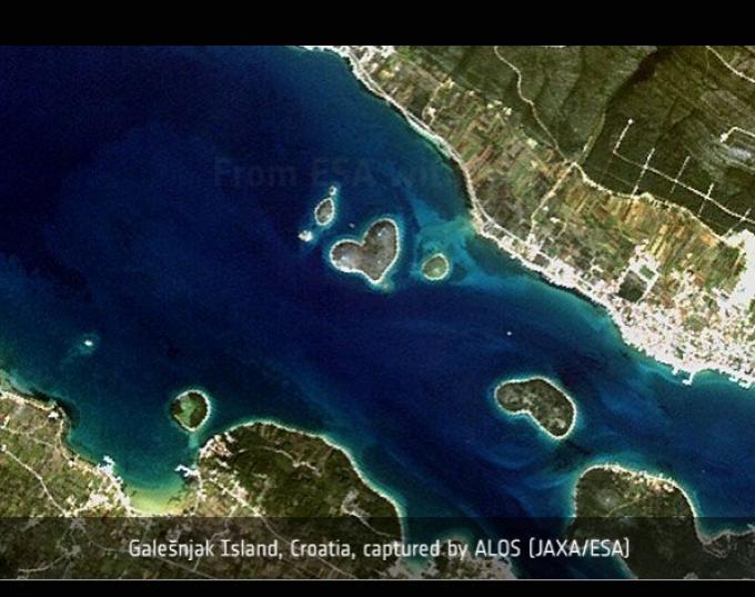 Isla del Corazón, Croacia