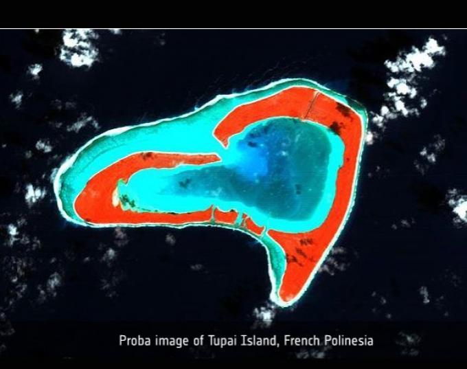 Isla Tupai, Polinesia Francesa