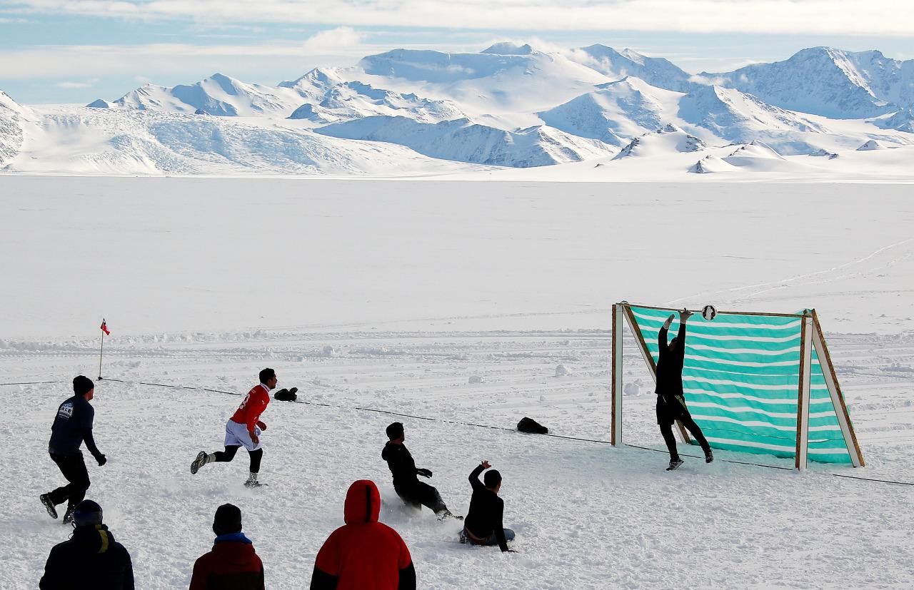 Futbol en la Antartida 1