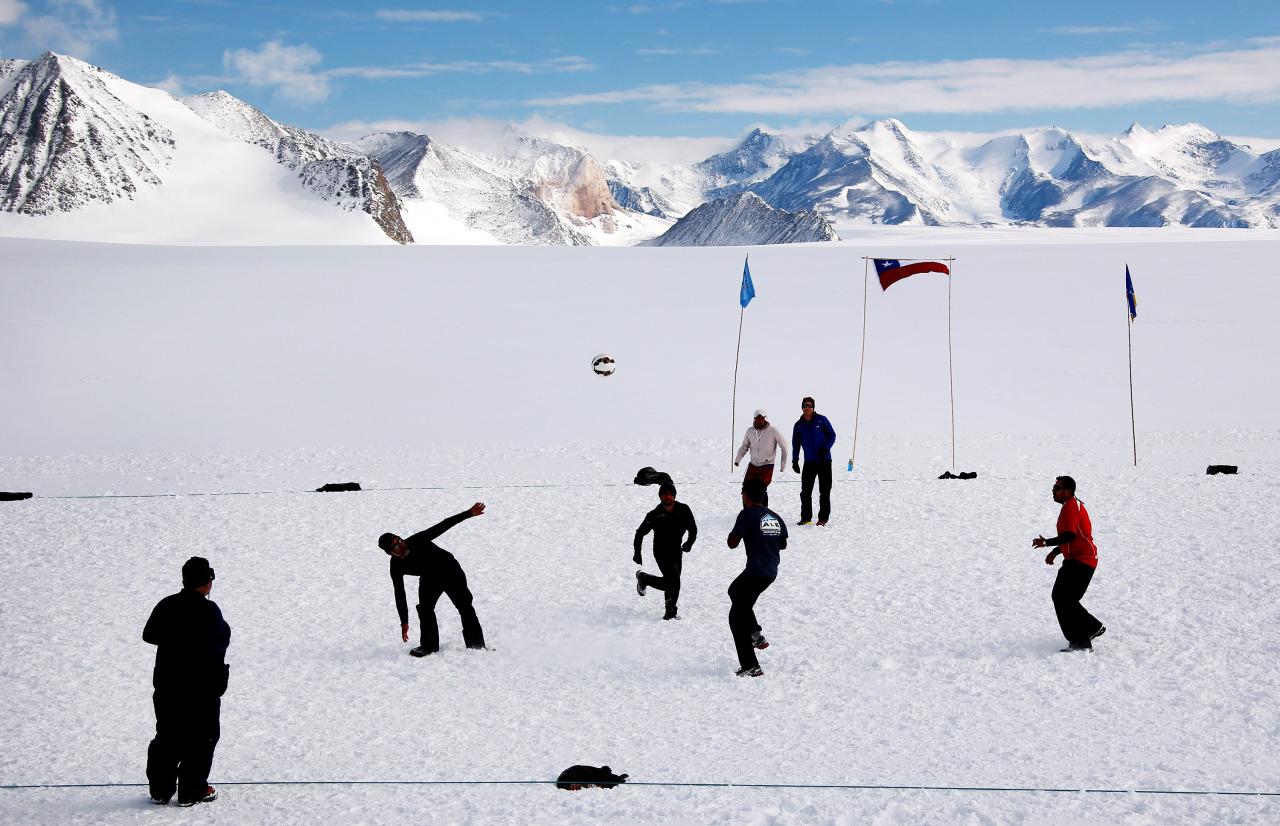 Futbol en la Antartida 2