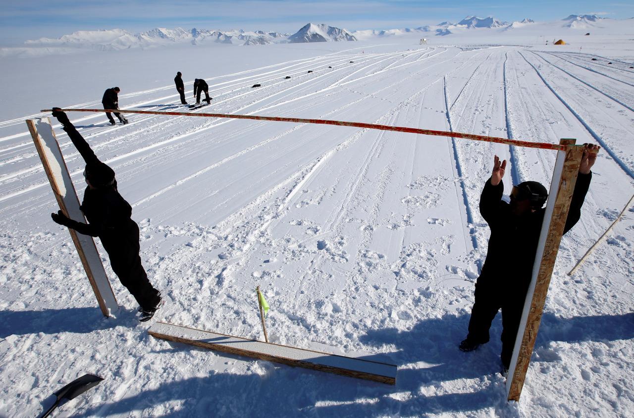 Futbol en la Antartida 5