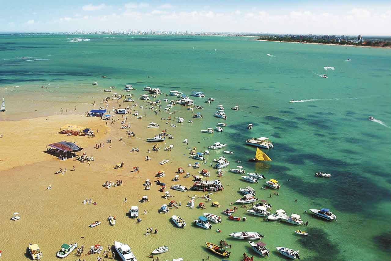 areia vermelha la hermosa playa brasile a que aparece y