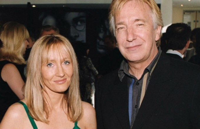 J. K. Rowling-Alan Rickman