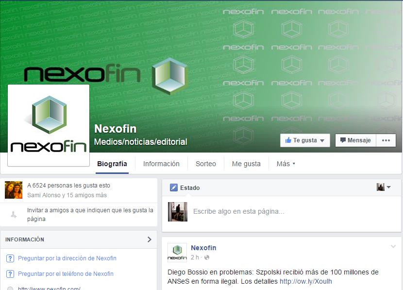 nexofin facebook