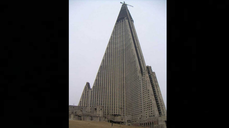 Hotel Ryugyong. Pyongyang, Corea del Norte