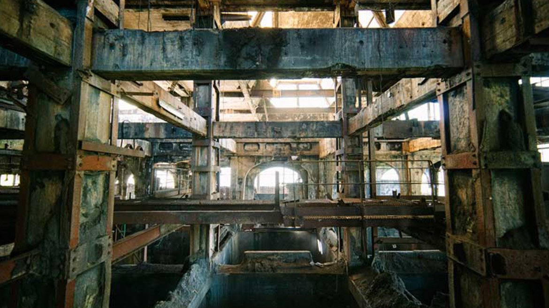 Planta de carbón abandonada. Francia