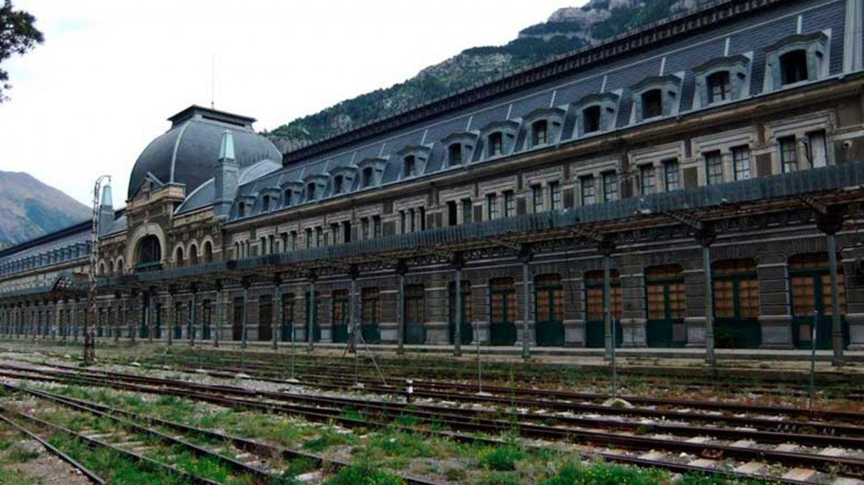 Estación de trenes de Canfranc. España