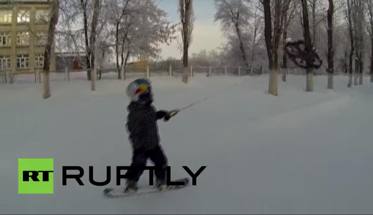 snowboard drone