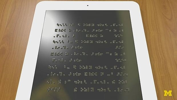 tablet braille