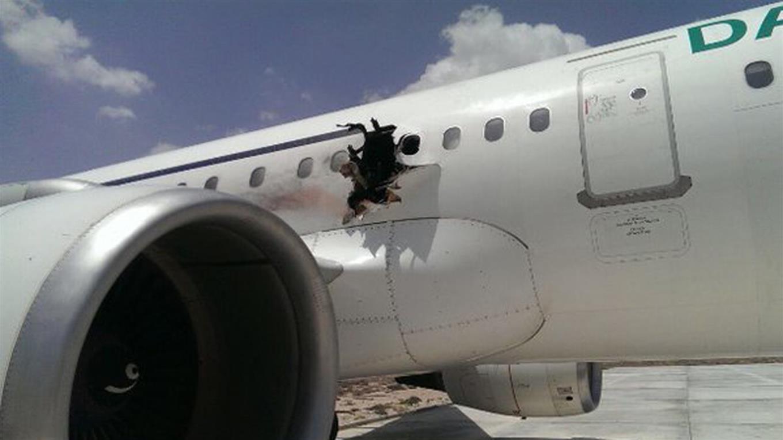avion agujero