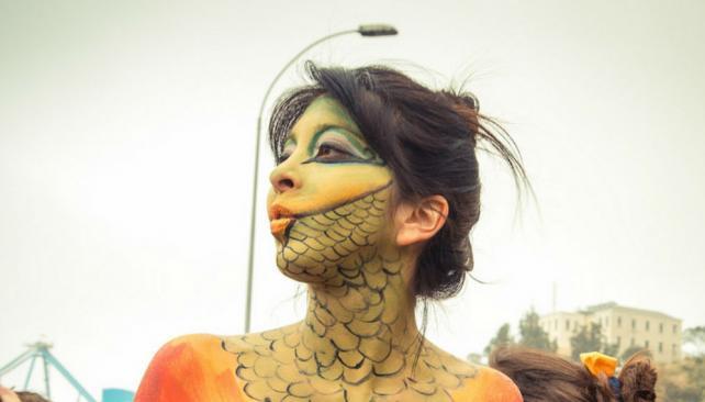 carnaval nudista