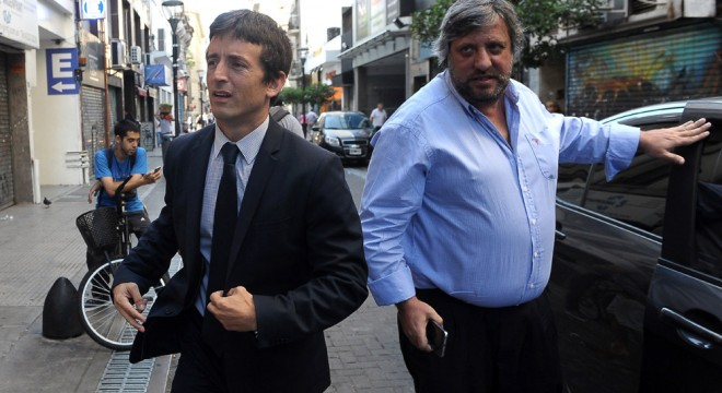 Agustín Garzón, primer interventor del Enacom y Miguel de Godoy, su actual presidente
