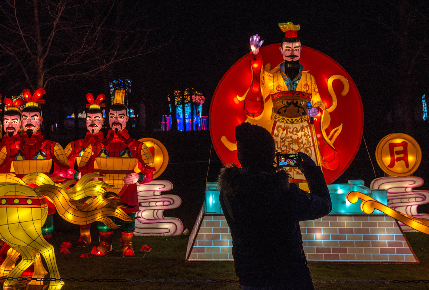 Preview Of London's Chinese Lantern Festival