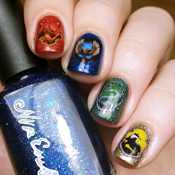 Harry Potter nairart uñas (10)