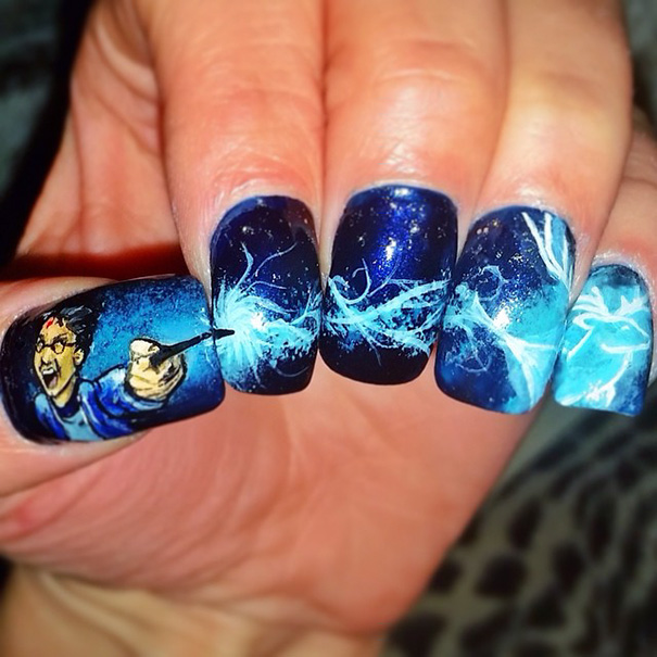 Harry Potter nairart uñas (4)