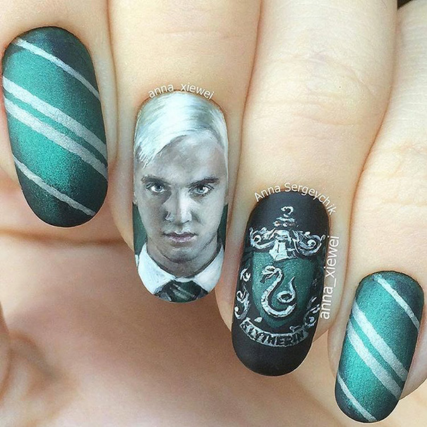 Harry Potter nairart uñas (6)