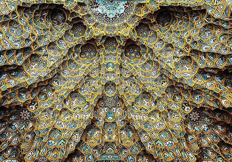 Hazrate-Masomeh en Qom, Iran