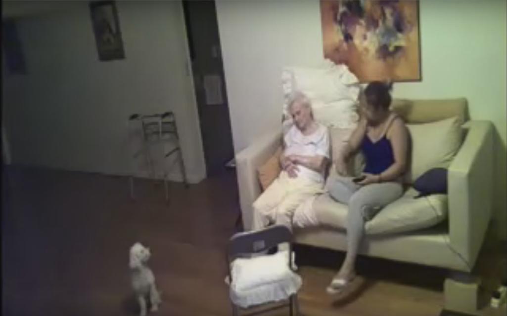 maltrato anciana