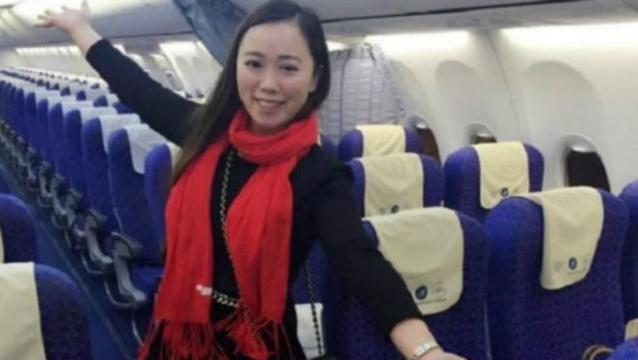 Mujer avion
